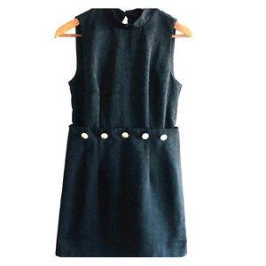 ASOS black mock neck mini dress. Size 6 buttons